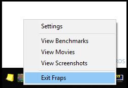 Exit Fraps